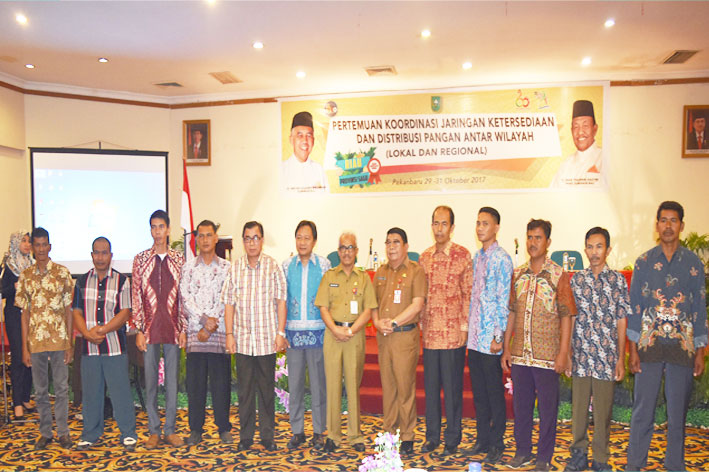 Pertemuan Koordinasi Jaringan Ketersediaan Dan Distribusi Pangan Antar Wilayah (Lokal dan Regional)
