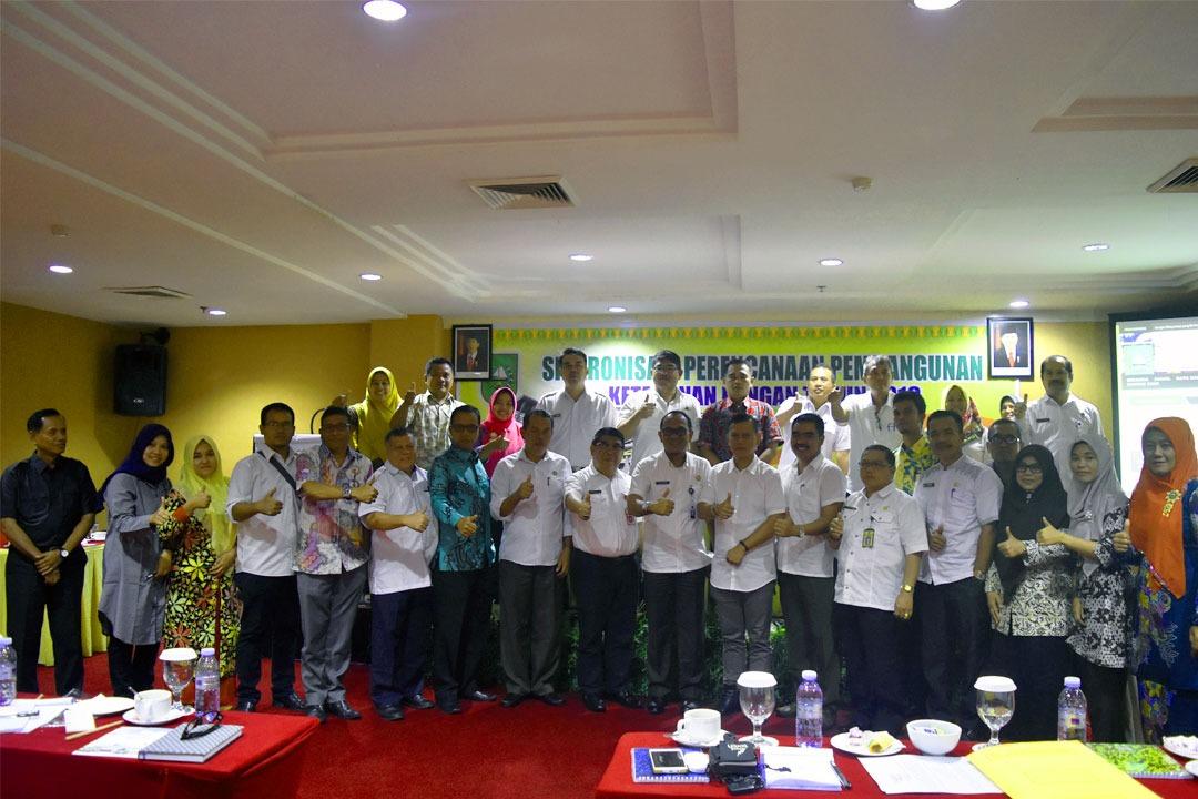 Pertemuan Sinkronisasi Perencanaan Pembangunan Ketahanan Pangan Tahun Anggaran 2017