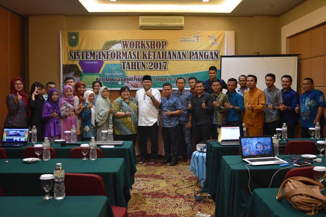 Workshop Sistem Informasi Ketahanan Pangan Tahun 2017